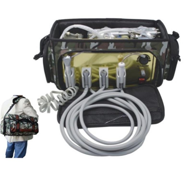 все цены на Cheap and High quality Best selling 9.5kg 410W Light Weight Dental Portable Dental Unit With Handpiece онлайн
