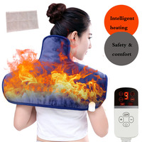 Electric Moxibustion Shawl Neck Cervical Shoulder Heating Pad Cervical Heating Blanket Multiple Protect for Shoulder neck pain