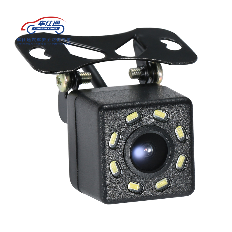 Image 5 - Car Backup Camera 4 8 12 LED light night vision reversing with parking line IP68  waterproof Rear View Camera-in Vehicle Camera from Automobiles & Motorcycles