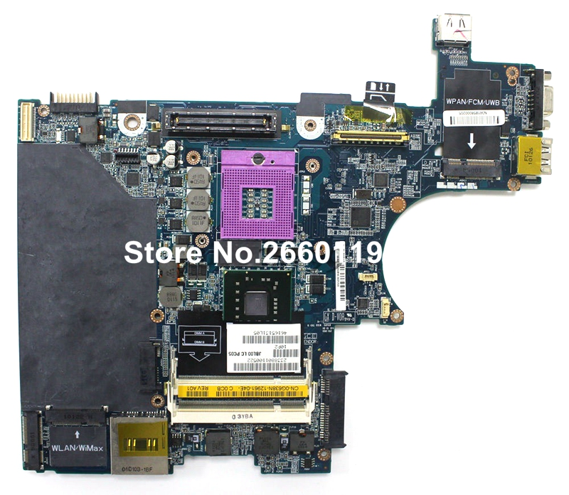 ФОТО 100% Working Laptop Motherboard For Dell E6400 CN-0G784N G784N JBL00 LA-3805P System Board fully tested and cheap shipping