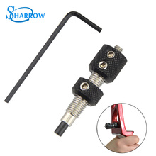 1pc Archery Plunger Pressure Button Arrow Rest Recurve Bow 5/16Thread Outdoor Sports Shooting Hunting And Accessories