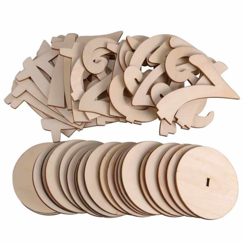 Wooden Table Numbers Holder Rustic figure card digital seat Wedding Birthday Party Banquet Supplies 10pcs/pack