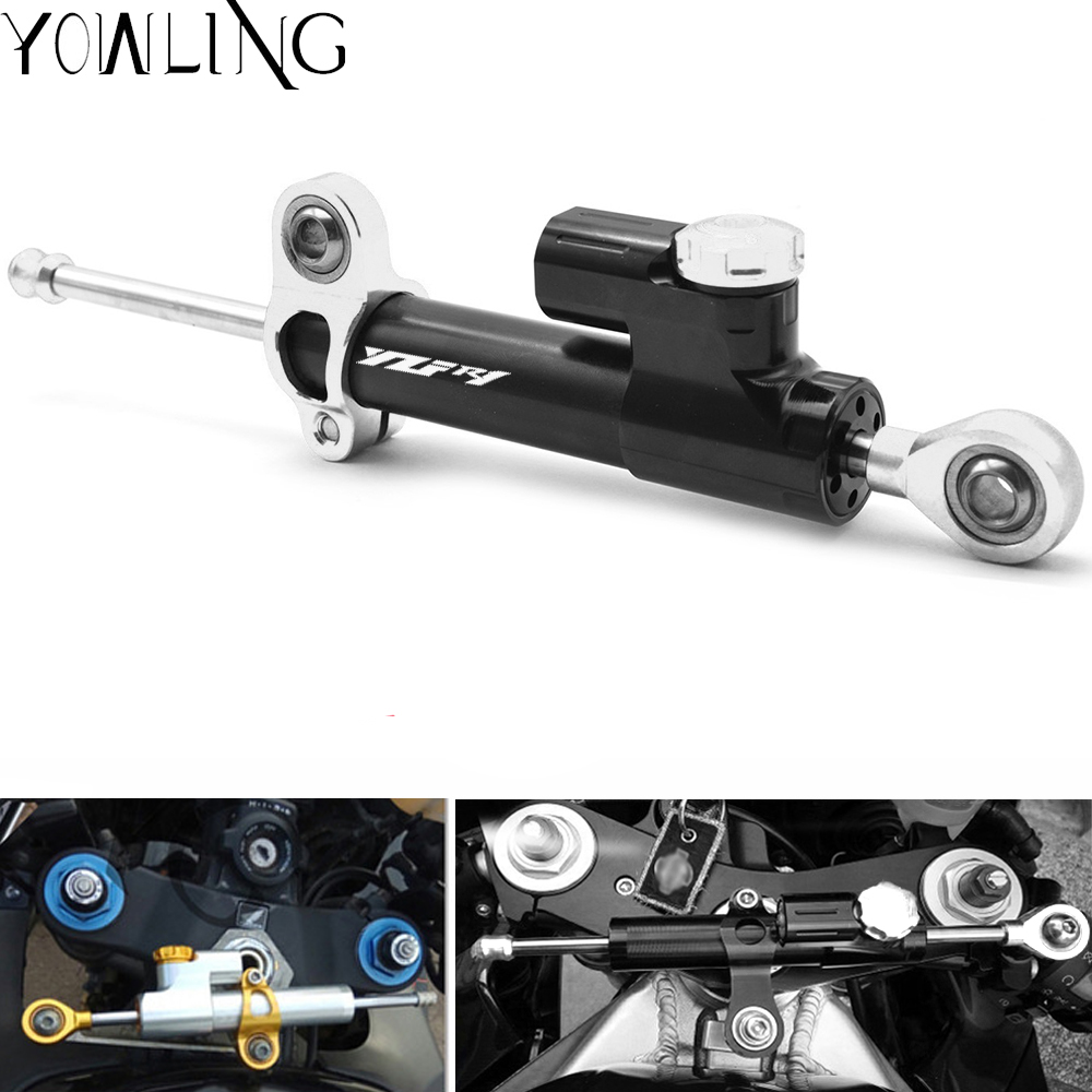CNC Adjustable Motorcycles Steering Stabilize Damper Mount Kit For YAMAHA YZF R1 YZFR1 YZF R1 1999
