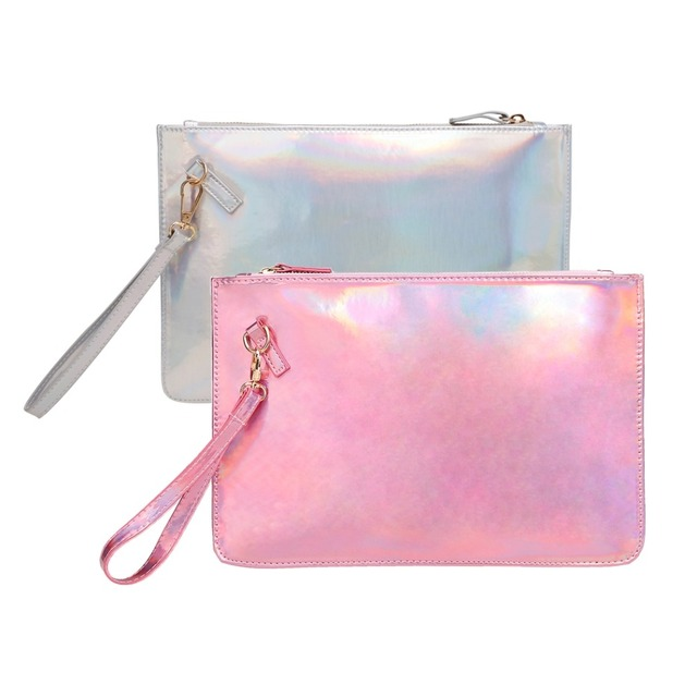 New Fashion Women Glitter purse lady zipper Envelope Shape Clutch Bags  Wallet party bag handbag 8acce991334b