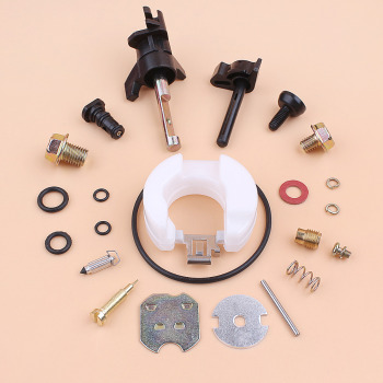 Carburetor Rebuild Repair Kit For HONDA GX120 GX160 GX200 GX 120 160 200 168F 5.5HP 6.5HP Strimmer Generator Mower Engine Motor engine power stop on off kill switch control for honda gx110 gx120 gx160 gx200 gx240 y51b
