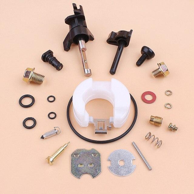 Carburetor Rebuild Repair Kit For HONDA GX120 GX160 GX200 GX 120 160 200 168F 5.5HP 6.5HP Strimmer Generator Mower Engine Motor