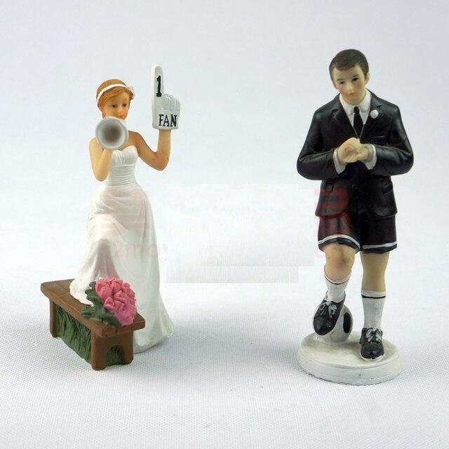 Wedding Cake Toppers Decorations Bride And Bridegroom Figurine Cake