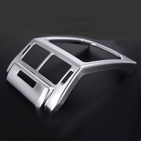 For Land Rover Range Rover Evoque 2014 2016 Car Interior Accessories Rear Air Outlet Vent Protection Frame Cover Trim Sticker