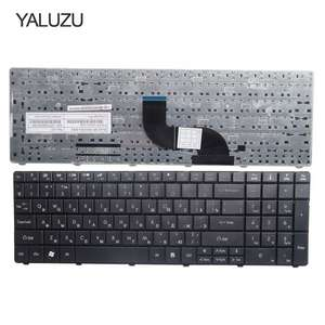 YALUZU Laptop Keyboard E1-521G Acer Aspire Russian FOR Black 531 New 571