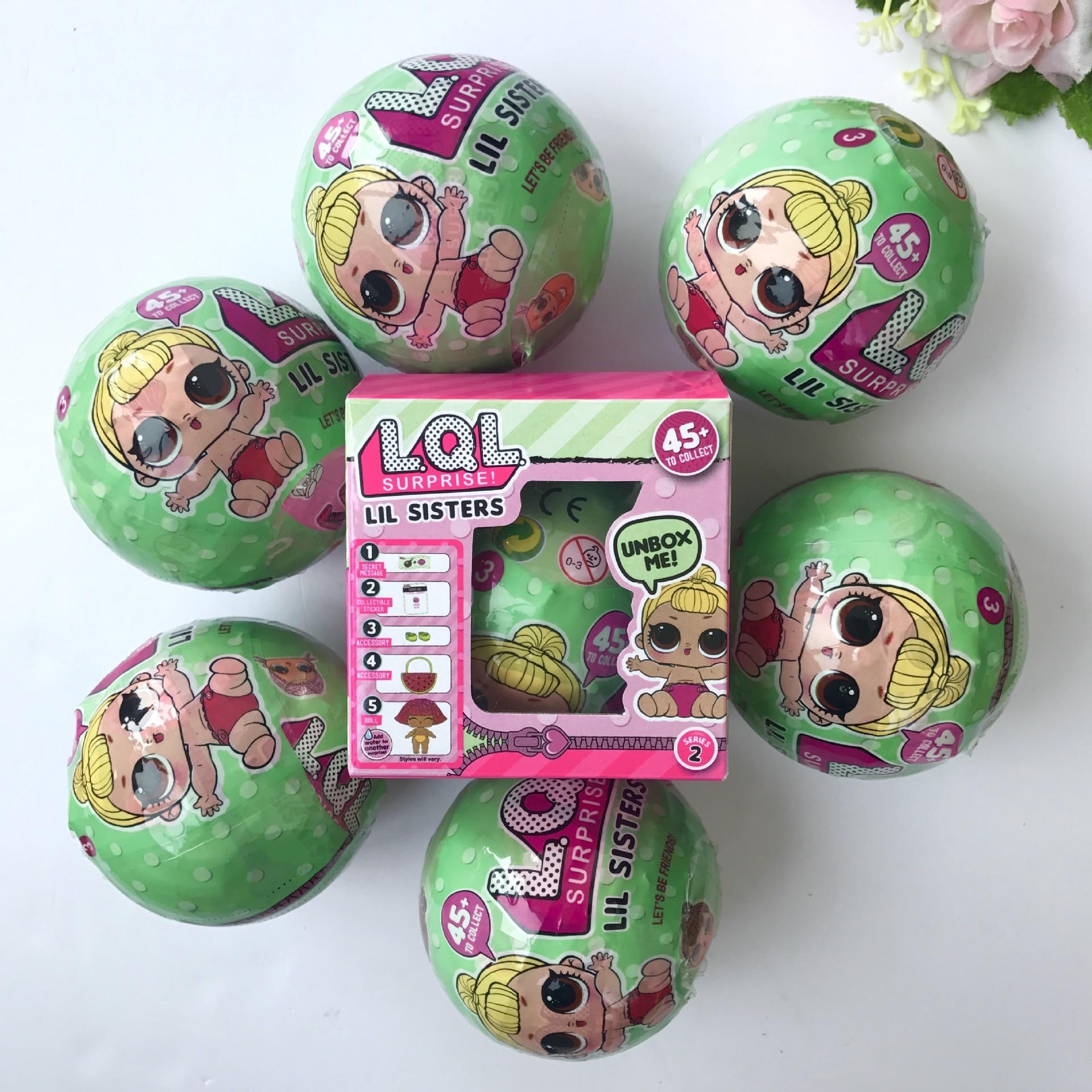 7cm-boneca-Surprise-Dress-Change-LOL-SURPRISE-DOLL-Baby-Tear-Open-Color-Change-Egg-Doll-Action-Figure-Toys-Send-Random-Kids-Gift-2