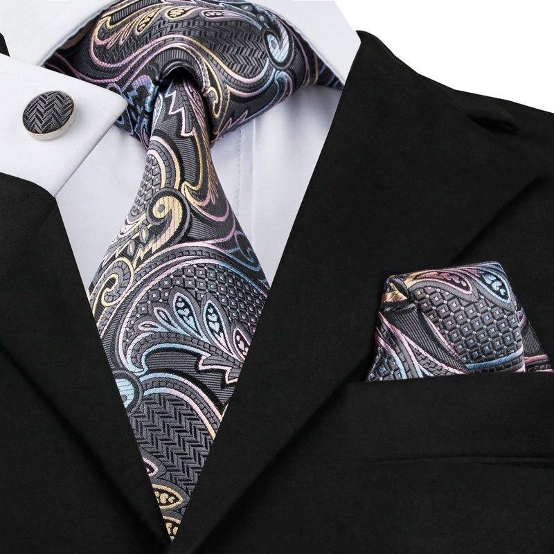 New Brand Hi-Tie Paisley Tie S...