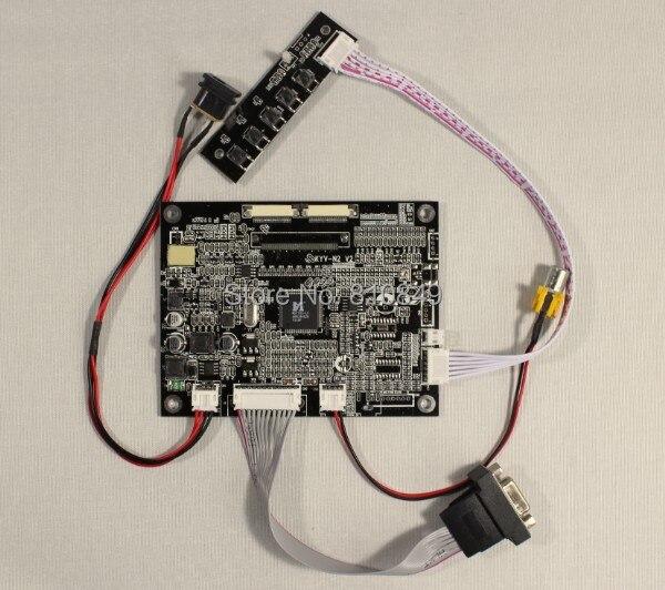 ФОТО VGA+AV Lcd Controller board KYV-N2 V2 work for 7inch TM070SDH01 800*600 lcd panel