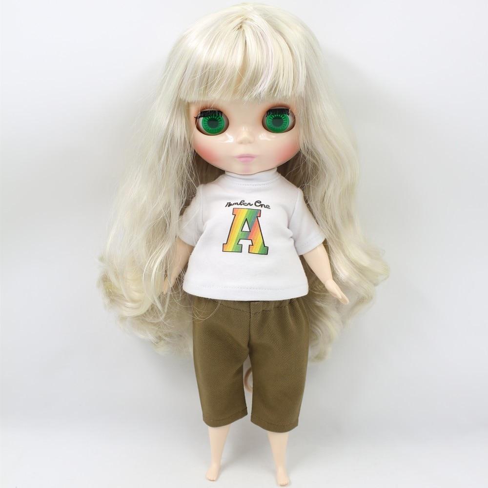 Neo Blythe Doll Blonde Hair Fat Body 3