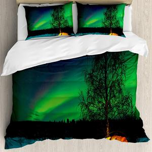Aurora Borealis Duvet Cover Se