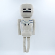 26cm New Minecraft Doll Minecraft Skeleton Plush Stuffed Toys Movie Toys Children Birthday Gifts Toys