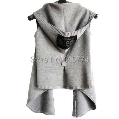 Free Shipping New Arrival Women Vest clip Spring and Autumn 2018 Loose Female Cardigan Plus Size cape Sweater Outerwear