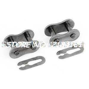 Motorcycle Chain Master Link Joint 420 Non O-ring Replacement 2pcs