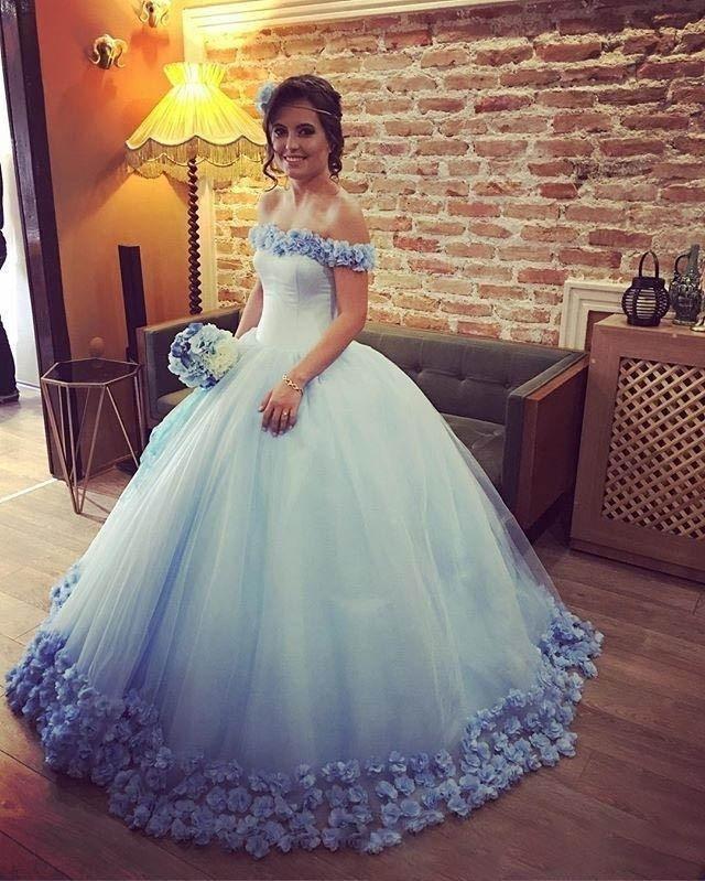 9bf512ac0a Vestidos de 15 anos DressesTulle Princesa Fiesta de Cumpleaños Larga ...