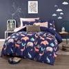 Home Textile Activity Of Cotton Bedding Set 100 Cotton Cartoon Bedding 4pcs Set Magic Soldiers Yellow