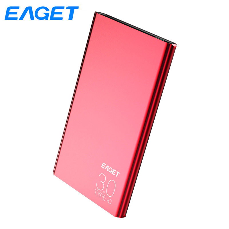 Eaget External Hard Drive 1TB HDD Type C 3.0 Externo Disco HD Disk Storage Devices Laptop Desktop Slim Hard Disk 1tb New Arrival eaget external storage devices 1tb high speed 2 5 hdd usb 3 0 desktop laptop 2tb hard disk 3tb external hard drive