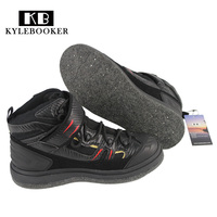 High Quality Outdoor Rock Fishing Shoes Slip Resistant Mesh Breathable Sport Shoes Men Waterproof Fishing Waders