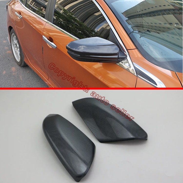 Carbon Fiber Style Side Mirror Cover Trim For Honda Civic 2016 2017 In  Mirror U0026 Covers From Automobiles U0026 Motorcycles On Aliexpress.com | Alibaba  Group