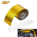 "GRT - Hot Selling 2""x5 Meter Roll SELF ADHESIVE REFLECT A GOLD HEAT WRAP BARRIER"