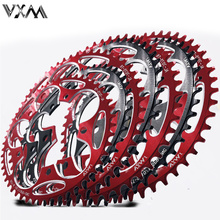 VXM Round Narrow Wide Chainring Road bike bicycle 130BCD 50T 52T 54T56T 58T 60T crankset Tooth plate Parts 130 BCD цена