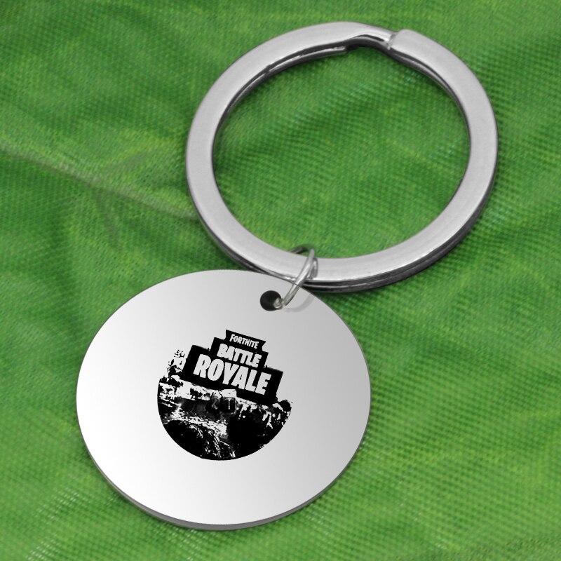 Ufine Key Holder Battle royale FPS Game Fortnite pendant 304 stainless steel Jewelry Key chian K074