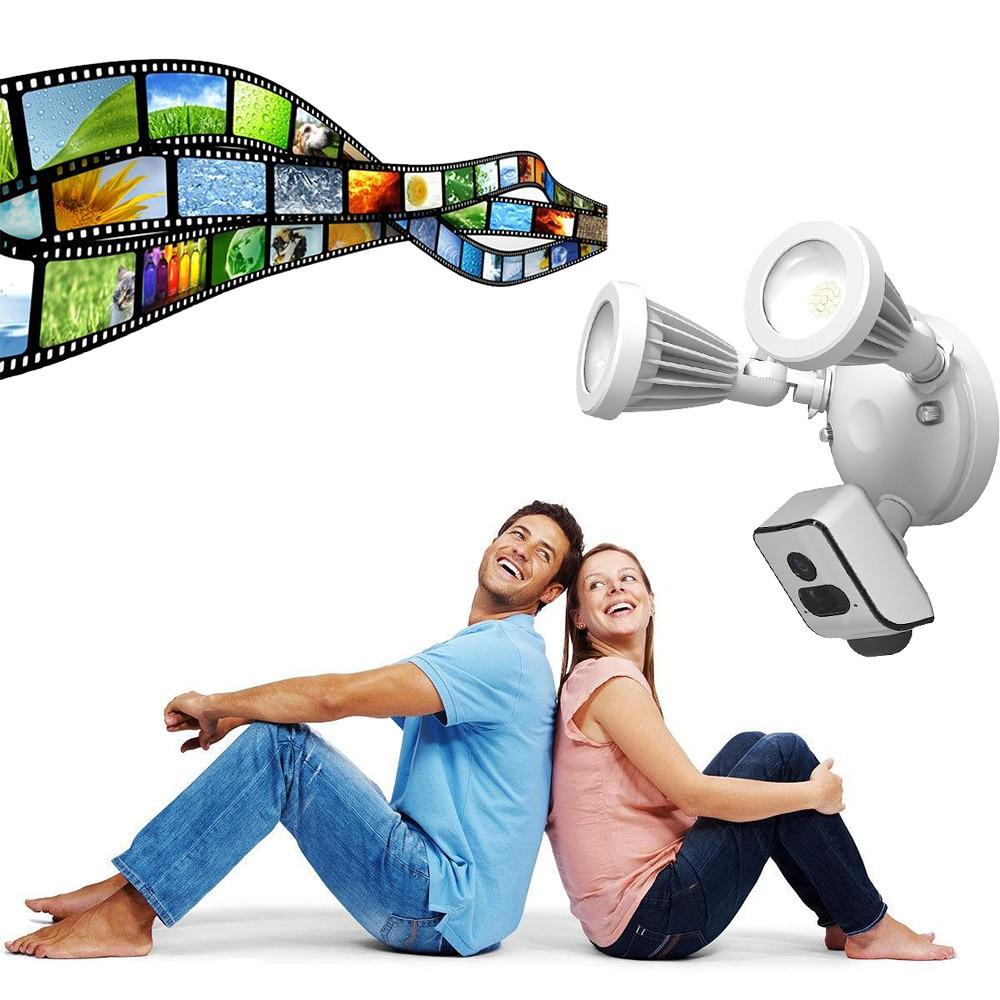 Unterhaltungselektronik Sport & Action-videokamera Freecam Flutlicht Sicherheit Wifi Kamera Motion-mit Alarm Push-und Cloud-service Jun27 Nachfrage üBer Dem Angebot