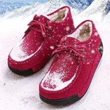 New Winter Women Sneakers Female Running Shoes Women Warm Outdoor Sports Shoes snow boots sneakers swing shoes Women size35-40