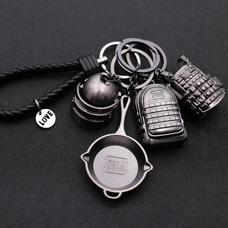 pubg keychain cosplay prop Pendant accessories Fullset 2