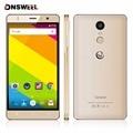 Бесплатный Случай Gooweel M17 4 Г Смартфон Отпечатков Пальцев ID MTK6737 Quad core 64bit 5.5 дюйма IPS Android 6.0 мобильный Сотовый телефон 16 ГБ 8MP