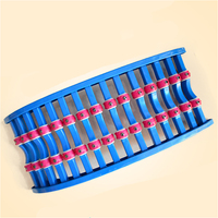 Roller Magnetic Therapy Spine Pain Relief Lumbar Traction Stretching Waist Relax Back Massage Board Lumbar Disc