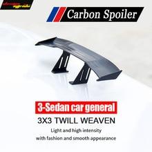 mini spoiler GT R-style For Volkswagen Golf 6 car general Vehemo Car Rear Spoiler Mini Wing Carbon Tail Decoration
