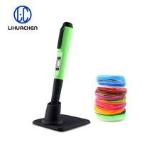 LIHUACHEN F10 3D Ручки Принтера пера интеллектуальных 3d Рисунок пером 1,75 мм ABS PLA