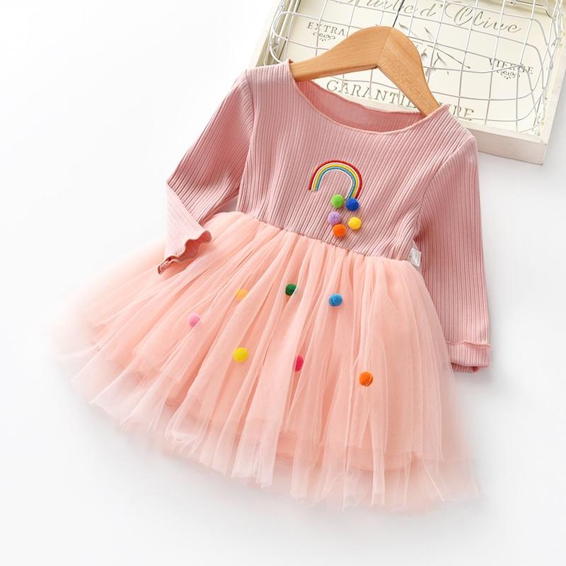 Bibicola New Child Women Princess Attire Children Child Lengthy Sleeve Gown Women Summer season Gown Youngsters Child Summer season Gown For Woman