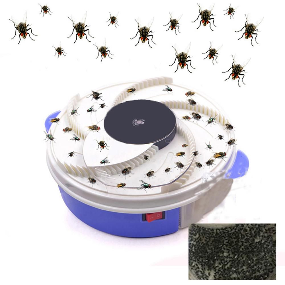 Healthy Electric USB Fly Trap Catcher Killer Repeller Insect Pest Repellent Tool hot(China)