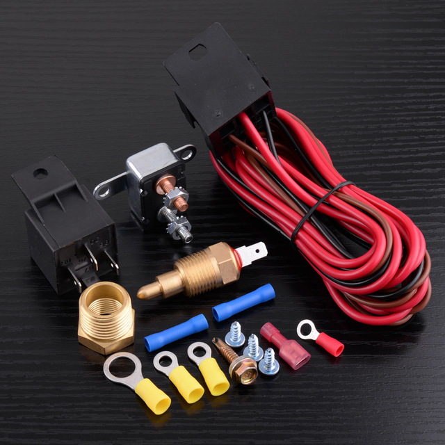 Admirable Dwcx 4 Pin Degree Engine Cooling Fan Thermostat Temperature Switch Wiring 101 Breceaxxcnl