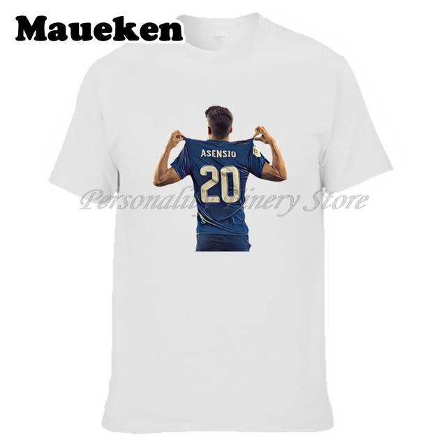 Hombres España Marco Asensio #20 Hala nueva estrella camiseta ropa ...