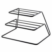 3-Tier Kitchen Dish Storage Rack Tableware Drying Tray Stand Holder Organizer