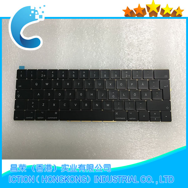 Original New A1707 Keyboard Sweden Swedish for Apple Macbook 15.4 A1707 Sweden Swedish Keyboard Late 2016 Mid 2017 Year original new laptop keyboard replacement for macbook pro 15 15 4 a1707 2016 us keyboard with backlight