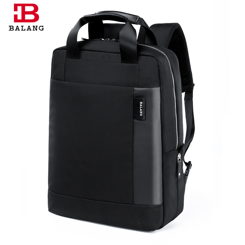 BALANG Brand Business Backpack for Men High Quality Travel Backpack Large Capacity Waterproof School Bags for Teenagers Rucksack