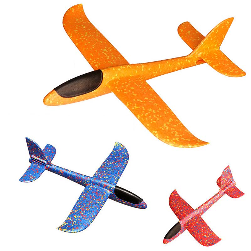Airplane Hand Launch Throwing Glider Aircraft Inertial Foam EVA Airplane Toy Plane Model Outdoor Toy Educational Toys Gift image