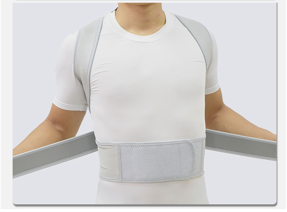 Ombro Para Trás Cinto Coluna Evitar Homens