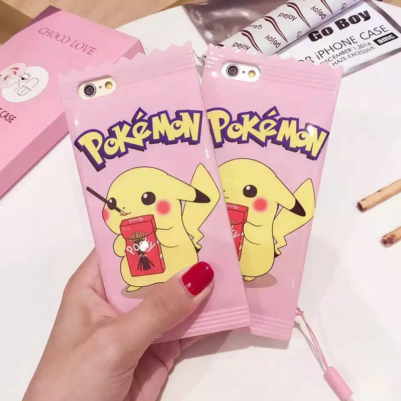 Cute Candy Pikachue Soft Silicon Phone Cases For Iphone 7