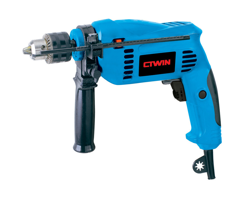 High Power 500W Electric Impact 13MM Drill Multi-function Open Whole Electric 500W Carved Wood Molding Type Strong-drill high power electric 13mm impact drill multi function open whole electric 710w carved wood molding type strong drill