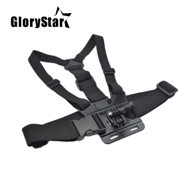 Chest Strap mount belt for Gopro hero 7 6 5 Xiaomi yi 4K Action camera Chest Mount Harness for Go Pro SJCAM SJ4000 sport cam fix