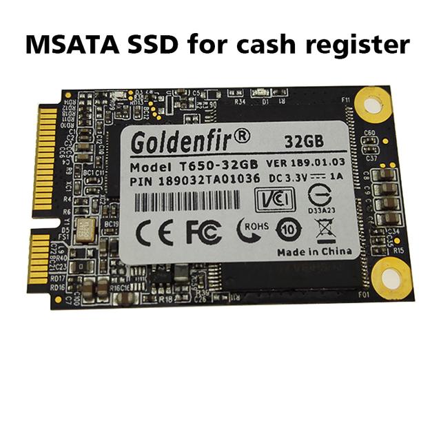 Msata ssd para caja registradora goldenfir masata bienvenido a pedido del oem discos de estado sólido ssd de 32 gb 16 gb 8 gb