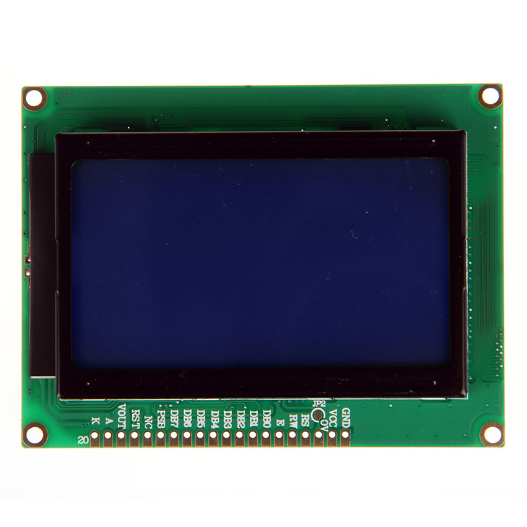 Geetech LCD12864 128x64 Dots Graphic Matrix LCD Module Display module ST7920 Controller for Arduino